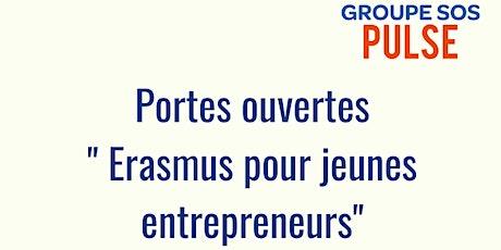 Portes ouvertes Erasmus pour jeunes entrepreneurs chez GROUPE SOS Pulse billets