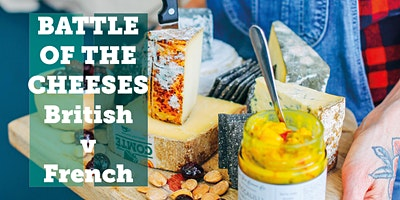 Battle of the Cheeses - British v French