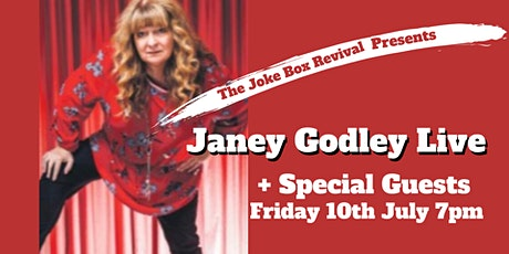 Postponed New Date Tbc                  The Joke Box Revival with Janey Godley + Special Guests tickets