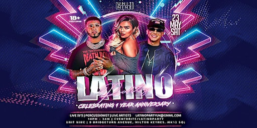 Latino Party - MK - Saturday 23rd May (Bank Holiday)