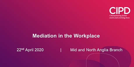 Mediation in the Workplace tickets