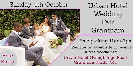 Urban Hotel Wedding Fair Grantham tickets