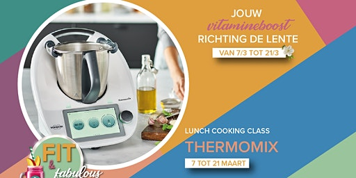 Lunch Cooking Class met Thermomix