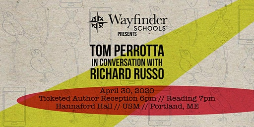 Tom Perrotta in Conversation with Richard Russo