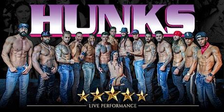 HUNKS The Show at Sharkeys (Huntington, WV) tickets