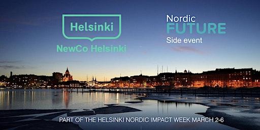 Helsinki Nordic Impact Week opening at Helsinki City Hall