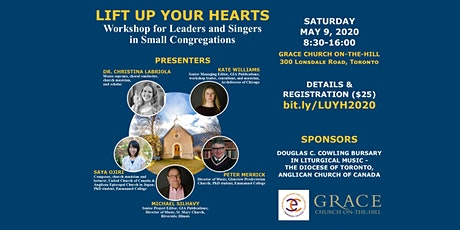 Lift Up Your Hearts: Workshop for Leaders & Singers in Small Congregations tickets