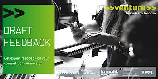 >>venture>> Draft Feedback Zürich