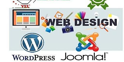 Website Development & Design using Joomla & Word Press Content  Mgt  System
