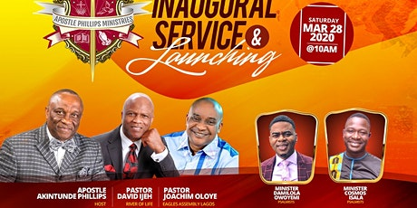 Inaugural Service & Launching tickets