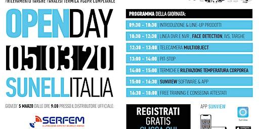 Open Day Sunell Italia