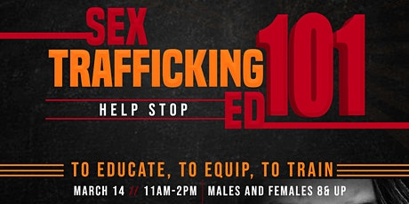Sex Trafficking Ed 101 tickets