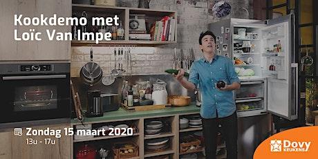 Kookdemo met Loïc Van Impe tickets