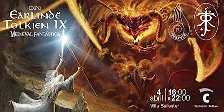 Expo Eärlindë Tolkien IX entradas
