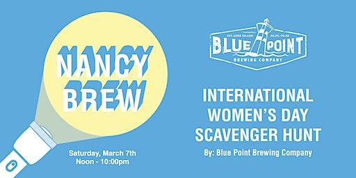 Nancy Brew - International Women's Day Scavenger Hunt