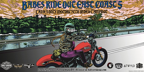 Babes Ride Out East Coast 5 tickets