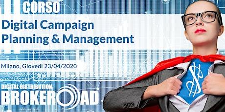 Corso Campaign Planning & Management biglietti