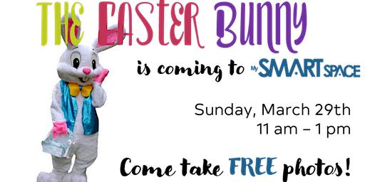 The Easter Bunny is coming to My Smart Space