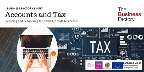 Dealing with Accounts and Tax | Friday 6th March at 9.30am tickets