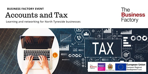 Dealing with Accounts and Tax   Friday 6th March at 9.30am