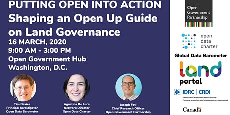 Putting Data into Action: Shaping an Open Up Guide on Land Governance tickets