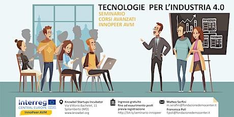 TECNOLOGIE PER L'INDUSTRIA 4.0 biglietti