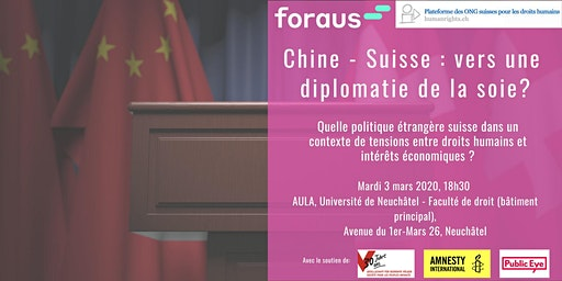 Chine-Suisse : vers une diplomatie de la soie ?  Quelle politique étrangère