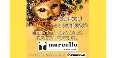 25 Febbraio è Martedì Grasso da Marcello!  biglietti