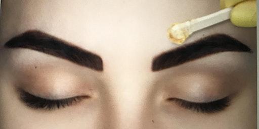 Eyebrow Waxing & Tinting Training