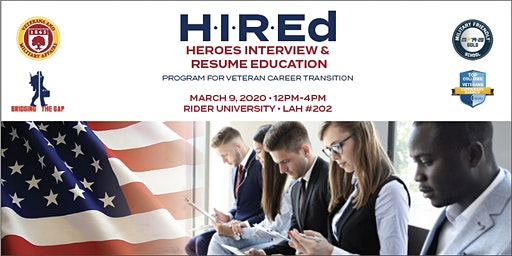 H.I.R.Ed. Veteran Career Transition Program
