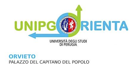 Unipg orienta 2020 - Salone di Orientamento Orvieto biglietti