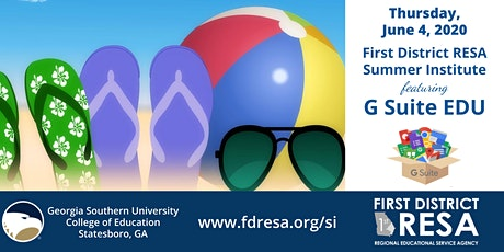 FDRESA Summer Institute 2020 tickets