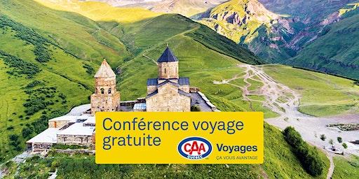 Conférences voyage CAA-Québec à Québec