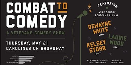 Combat to Comedy tickets
