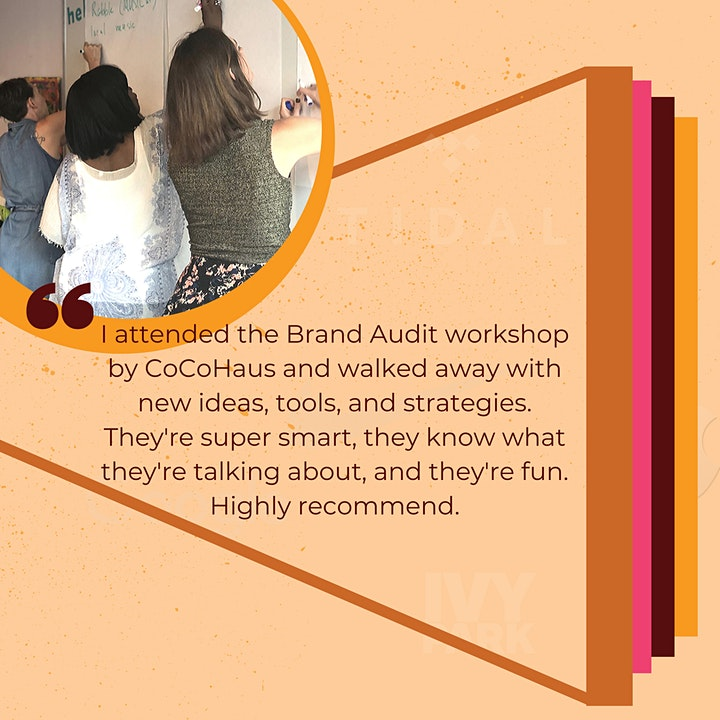 CoCoHaus Brunch & Brand Werkshop: The Audit image