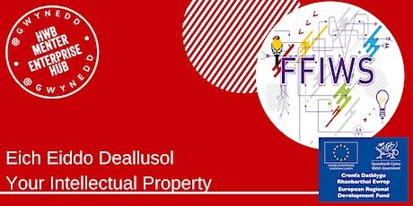 Eich Eiddo Deallusol - Your Intellectual Property tickets