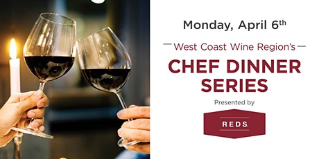 Mark Anthony, Chef Dinner Series by Reds tickets
