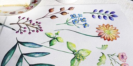 Watercolour & Pencil sketch workshop