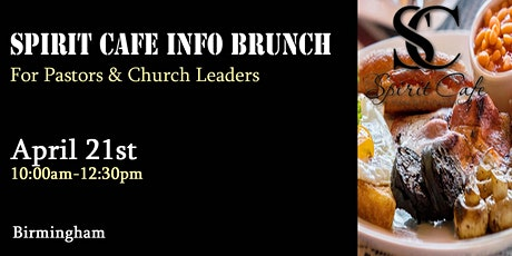 Spirit Cafe Info Brunch - Birmingham tickets