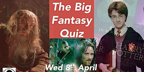 The Big Fantasy Quiz tickets