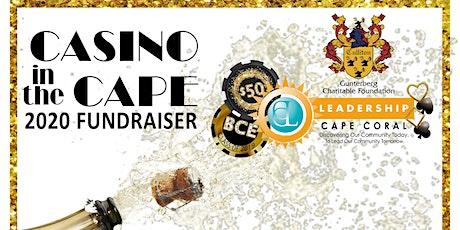 9th Annual Casino in the Cape tickets