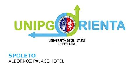 Unipg orienta 2020 - Salone di Orientamento Spoleto biglietti