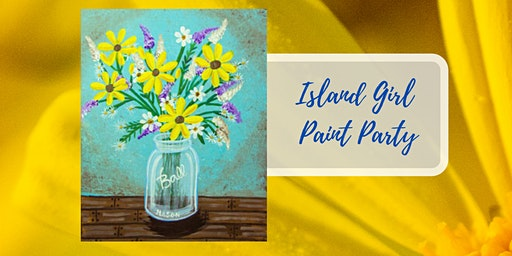 Island Girl Paint Party at Scuttlebutt TAPROOM