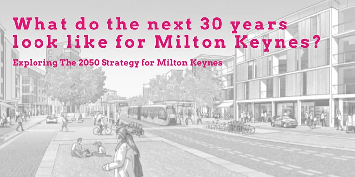 Community Action: MK Spring Networking Event:  MK Strategy for 2050 image