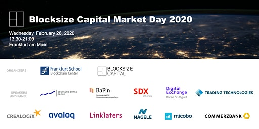 Blocksize Capital Market Day