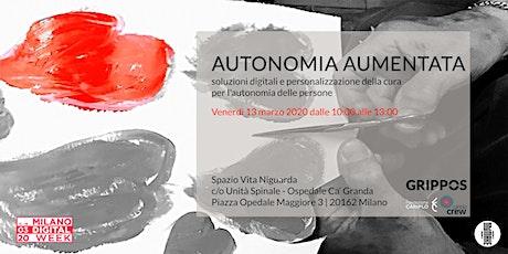 Autonomia Aumentata - 13 marzo 2020 biglietti
