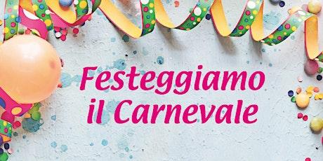 Carnevale: golosità e divertimento in Fattoria biglietti