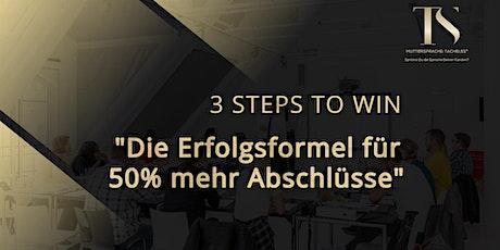 Die Erfolgsformel für 50% mehr Abschlüsse: Mit Muttersprache:Tacheles® Tickets