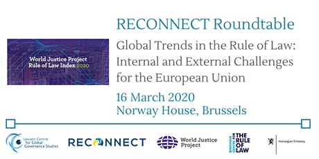 Global Trends in the Rule of Law: Internal & External Challenges for the EU tickets