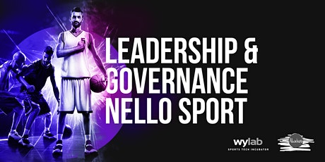 Leadership & Governance nello sport biglietti